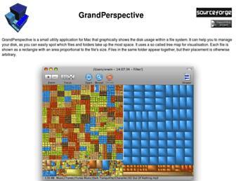 grandperspectiv.sourceforge.net screenshot