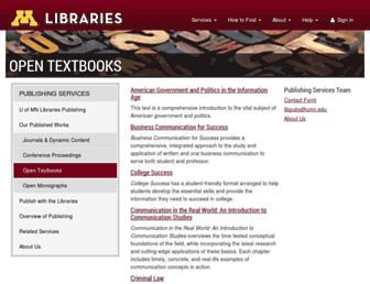 open.lib.umn.edu screenshot