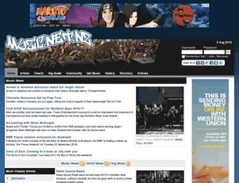 muzic.net.nz screenshot