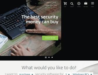 eset.us.com screenshot