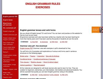 e-grammar.org screenshot