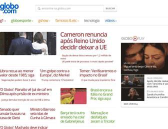 Thumbshot of Globo.com