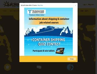 quickerala.com screenshot