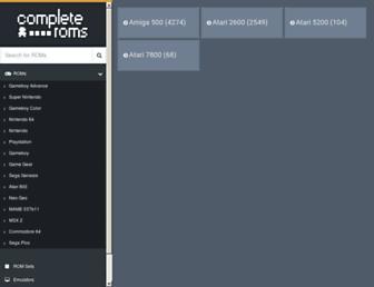 completeroms.com screenshot