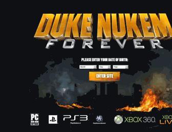 dukenukemforever.com screenshot