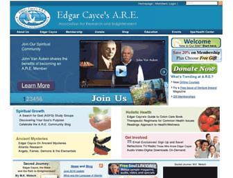 Thumbshot of Edgarcayce.org