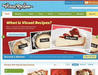 Thumbshot of Visualrecipes.com