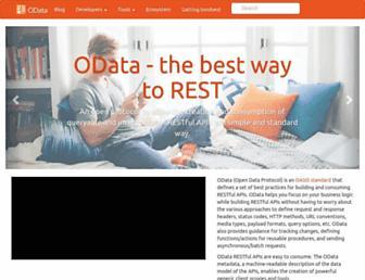 Thumbshot of Odata.org