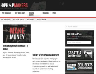hiphopmakers.com screenshot