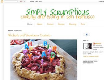 simplyscrumptioussf.com screenshot