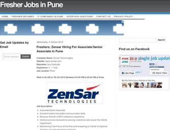 allpunejobs.com screenshot