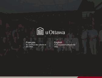web5.uottawa.ca screenshot