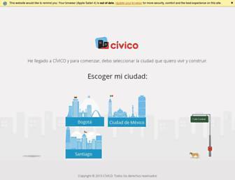civico.com screenshot