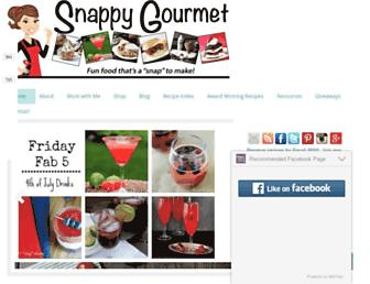 Thumbshot of Snappygourmet.com
