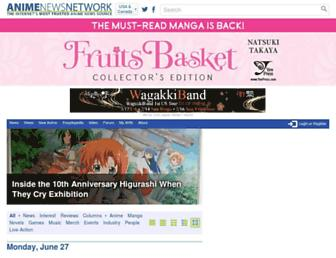 Thumbshot of Animenewsnetwork.com