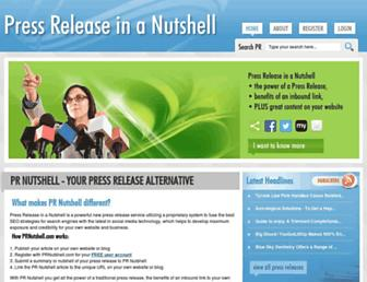 Thumbshot of Prnutshell.com