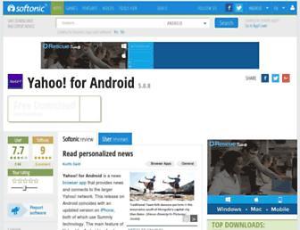 yahoo.en.softonic.com screenshot