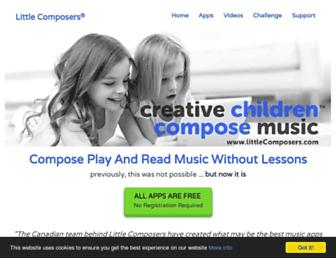 Thumbshot of Littlecomposers.com
