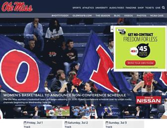 Thumbshot of Olemisssports.com