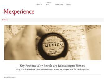 mexperience.com screenshot