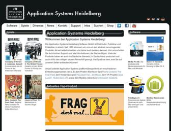Thumbshot of Application-systems.de