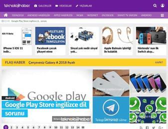 teknolojihaber.net screenshot