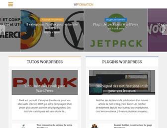wpformation.com screenshot