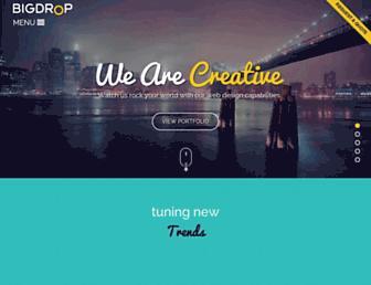 bigdropinc.com screenshot