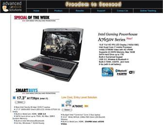 advancednotebook.com screenshot