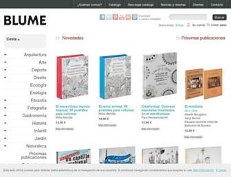 blume.net screenshot