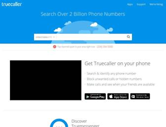 Thumbshot of Truecaller.com