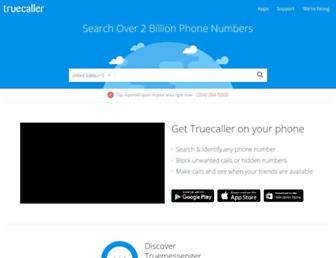 Thumbshot of Truecaller.com