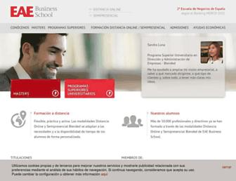 eaeprogramas.es screenshot