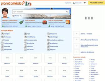 planetamexico.com.mx screenshot