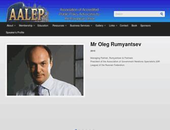 aalep.eu screenshot
