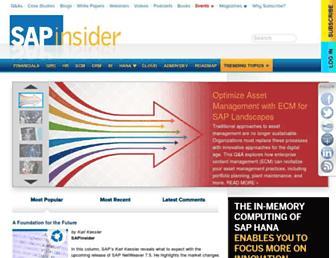 sapinsider.wispubs.com screenshot