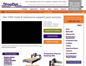 shopbottools.com screenshot