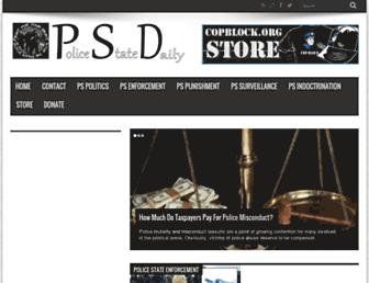 Thumbshot of Policestatedaily.com
