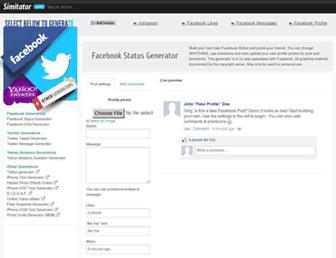 Thumbshot of Simitator.com