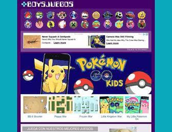 boysjuegos.com screenshot