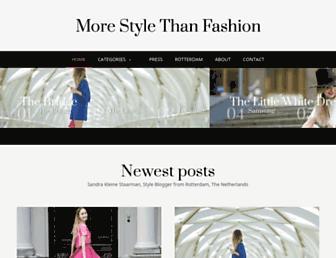 Thumbshot of Morestylethanfashion.com