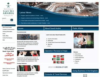Thumbshot of Saudiembassy.net