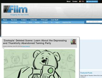 Thumbshot of Slashfilm.com