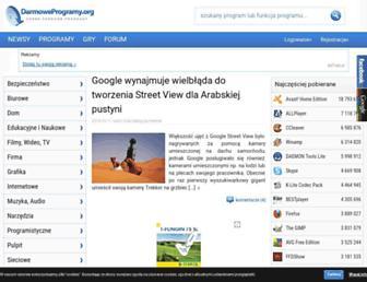 Thumbshot of Darmoweprogramy.org