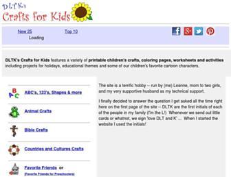 Thumbshot of Dltk-kids.com