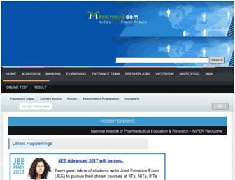 meraresult.com screenshot
