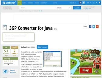 3gp-converter.en.softonic.com screenshot
