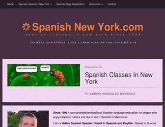 spanishnewyork.com screenshot