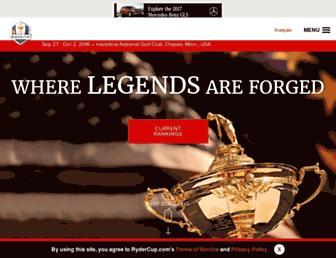 rydercup.com screenshot
