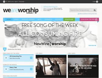 weareworship.com screenshot